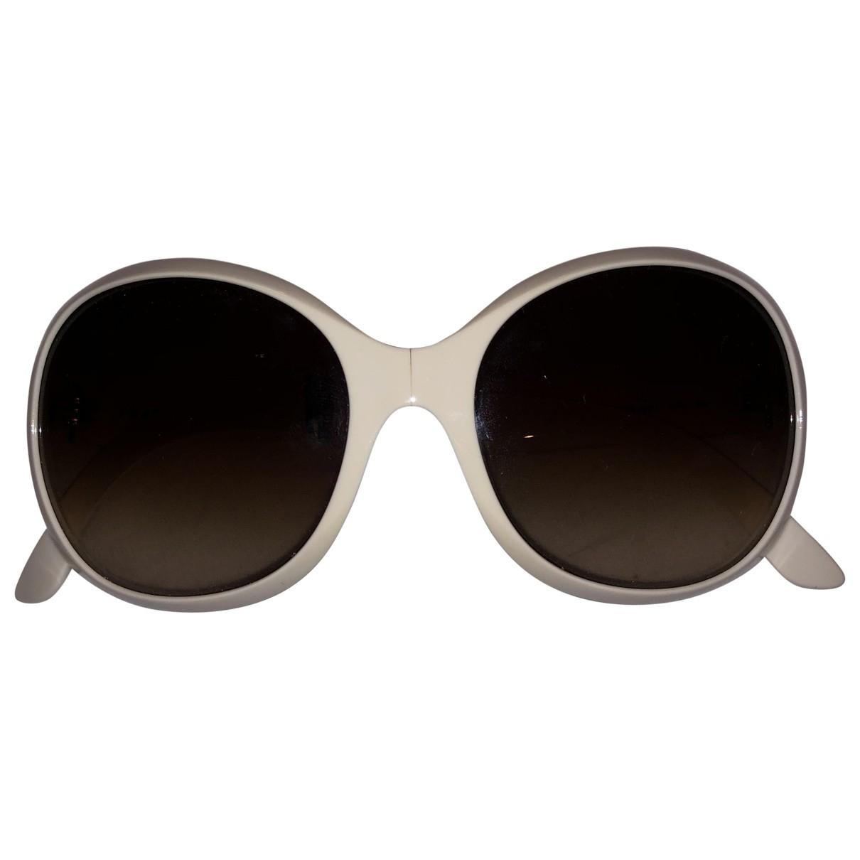 Prada \N Sonnenbrillen in  Weiss Kunststoff