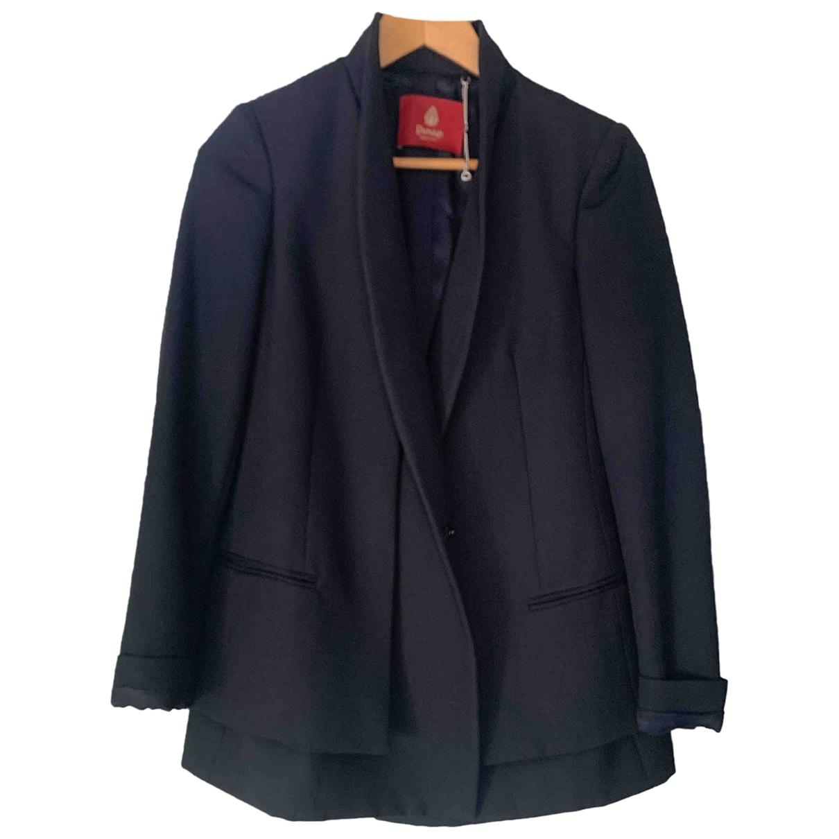 Dondup \N Blue Wool jacket for Women 40 IT
