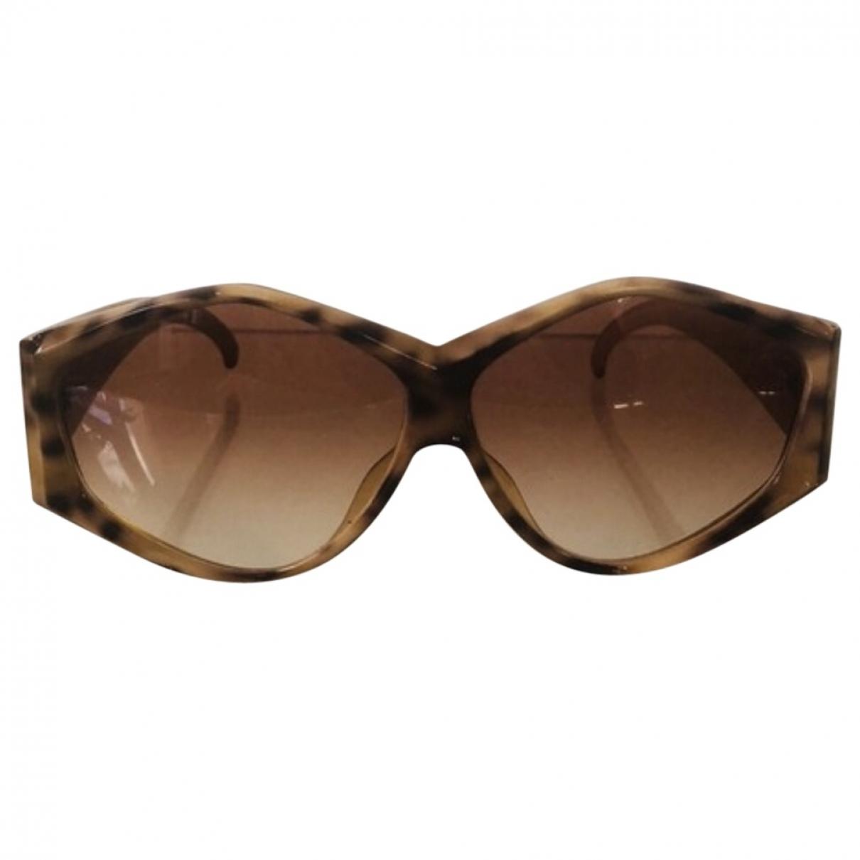 Dior \N Camel Sunglasses for Women \N