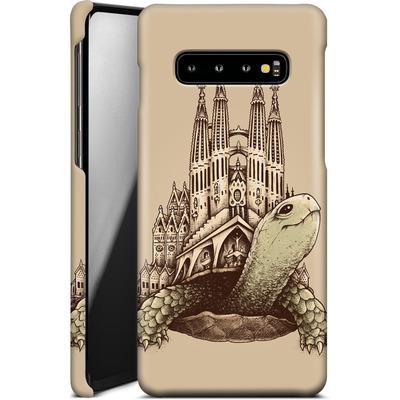 Samsung Galaxy S10 Plus Smartphone Huelle - Slow Architecture von Enkel Dika