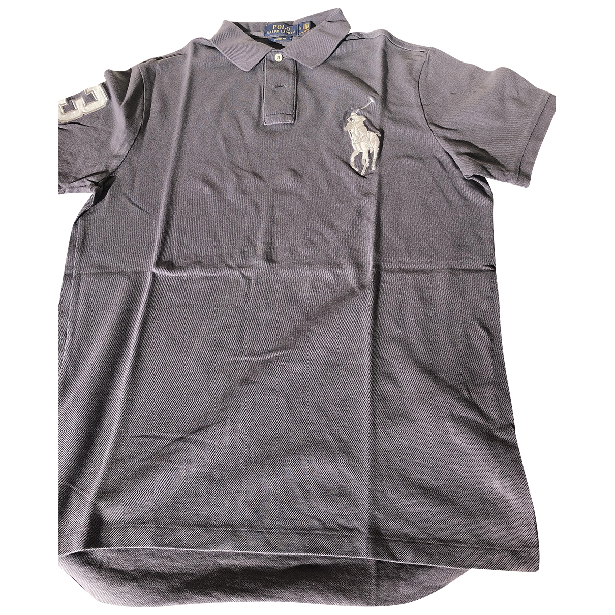 Polo Ralph Lauren \N Anthracite Cotton Polo shirts for Men L International