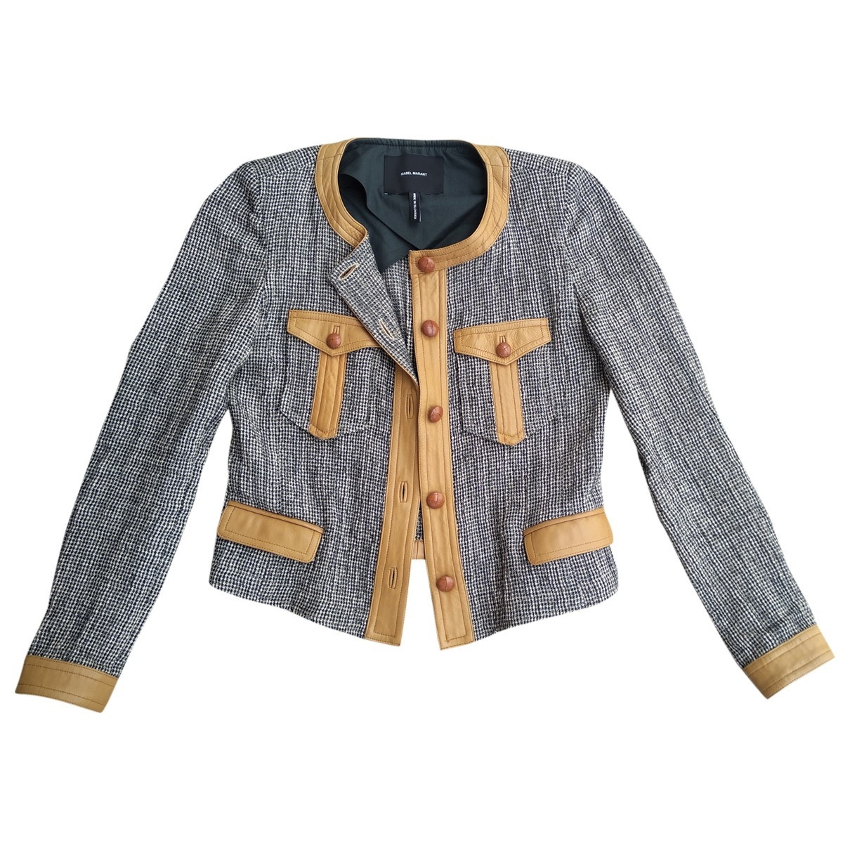 Isabel Marant \N Multicolour Wool jacket for Women 36 FR