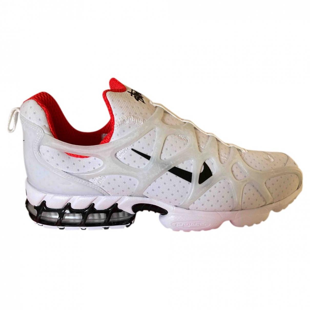 Nike X Stussy - Baskets   pour homme en cuir - blanc
