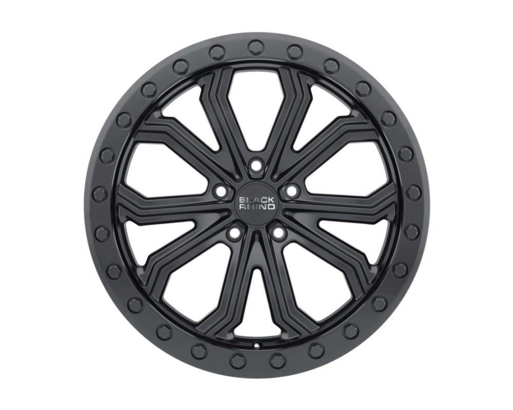 Black Rhino Trabuco Matte Black w/ Black Bolts Wheel 20x10 5x127|5x5 30mm CB71.6