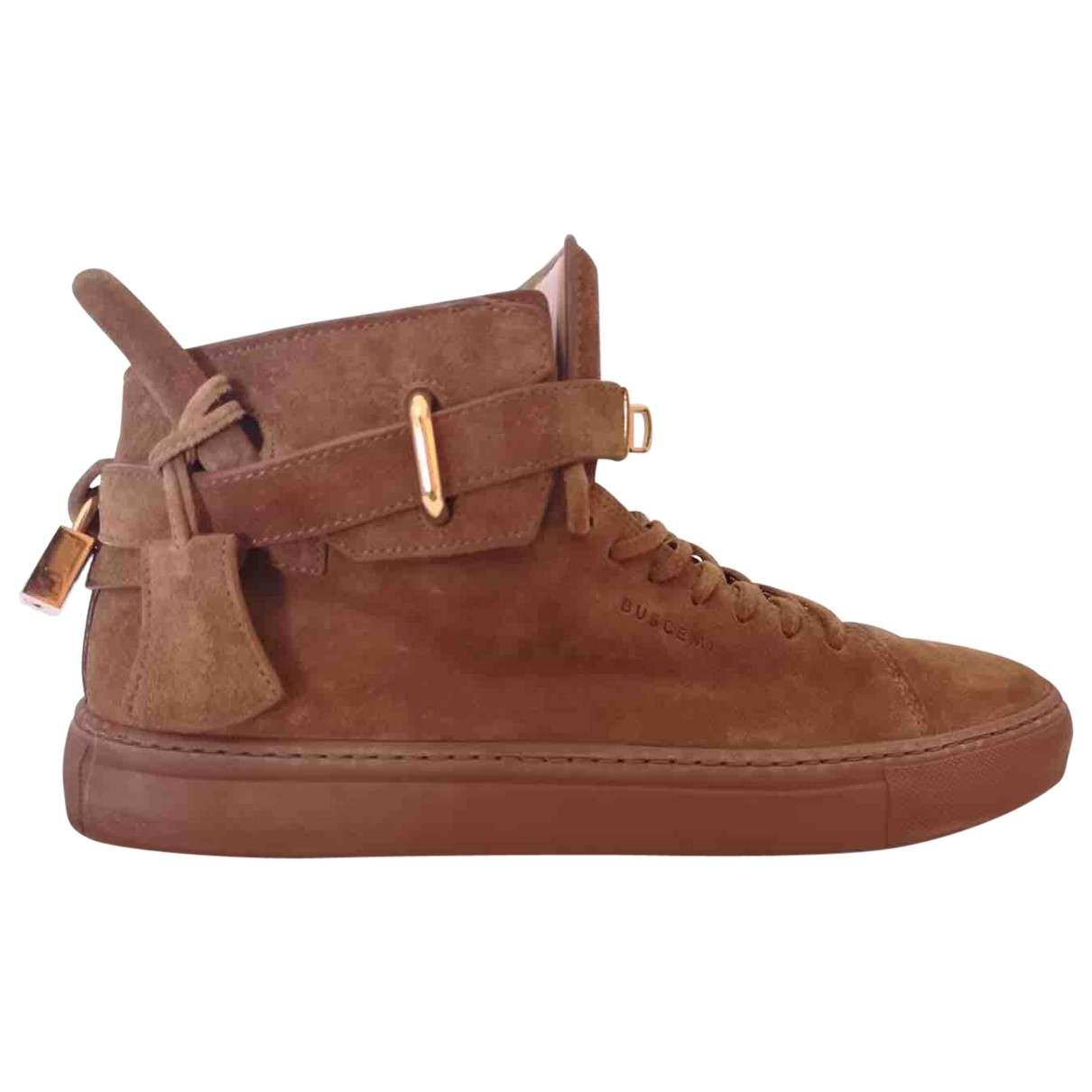 Buscemi \N Camel Suede Trainers for Men 8.5 US