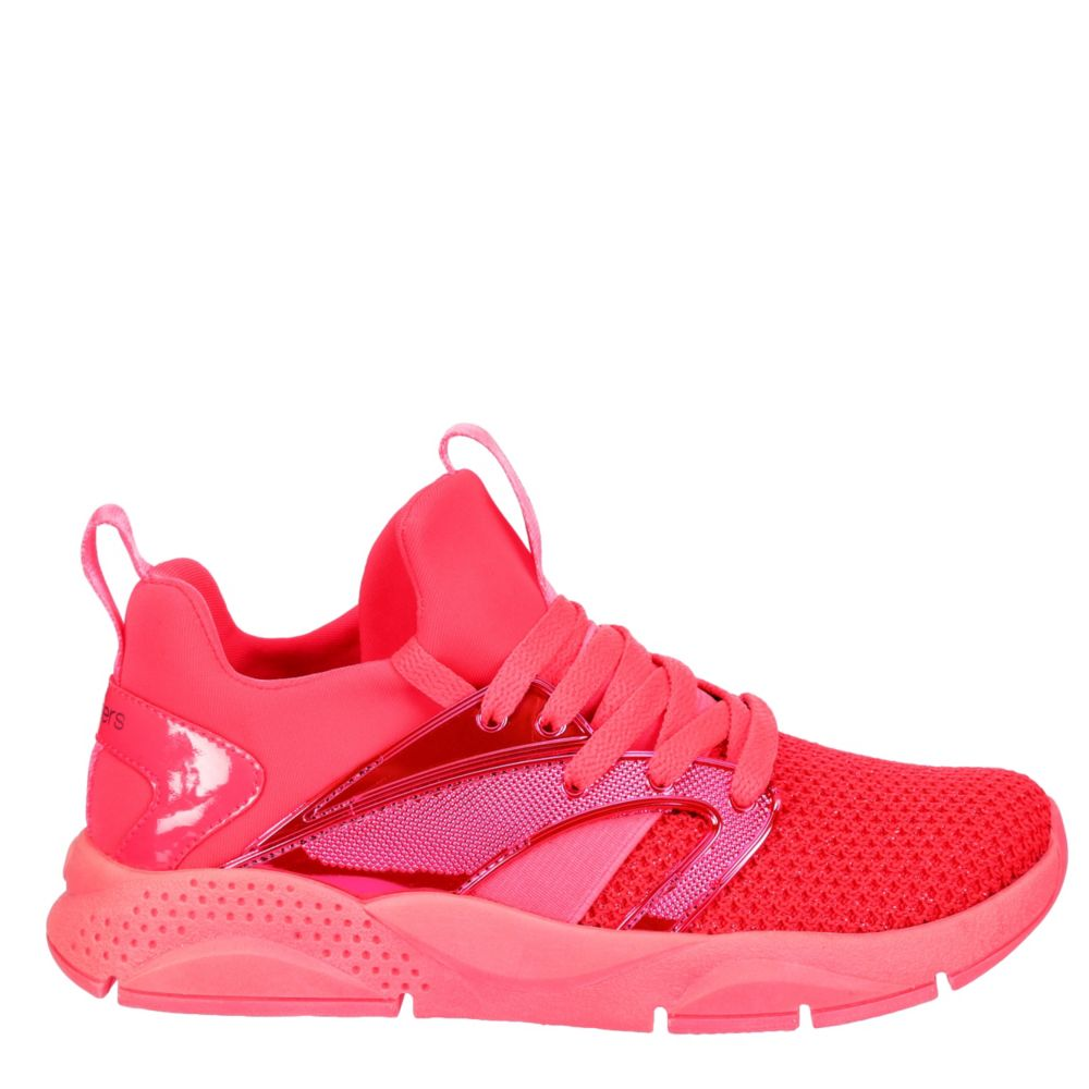 Skechers Kids Girls Shine Status Shoes Sneakers