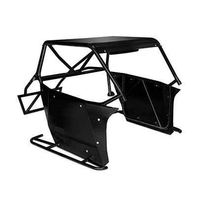 Cognito Motorsports Roll Cage Package (Black) - 360-90424
