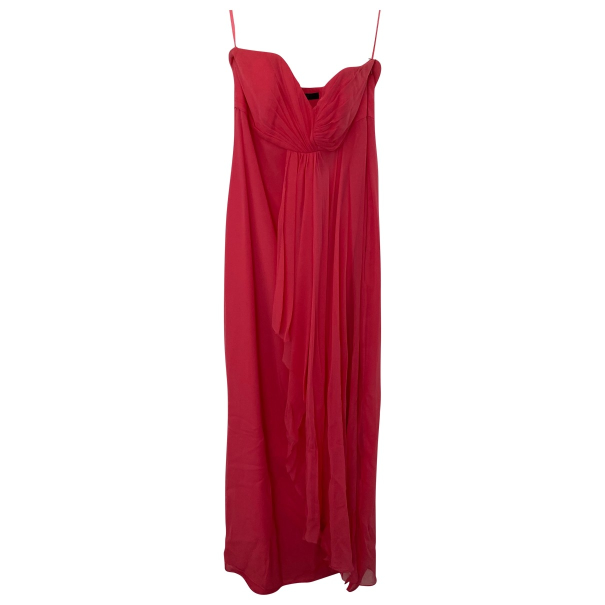 Coast \N Pink Silk dress for Women 8 UK