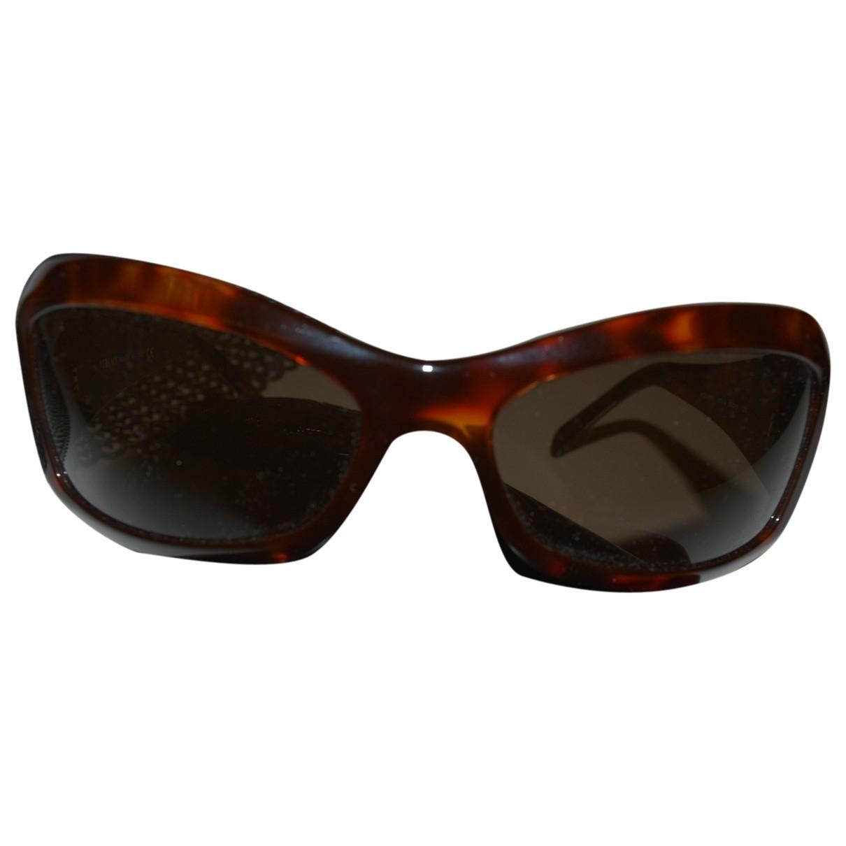 Versace \N Sonnenbrillen in  Braun Kunststoff