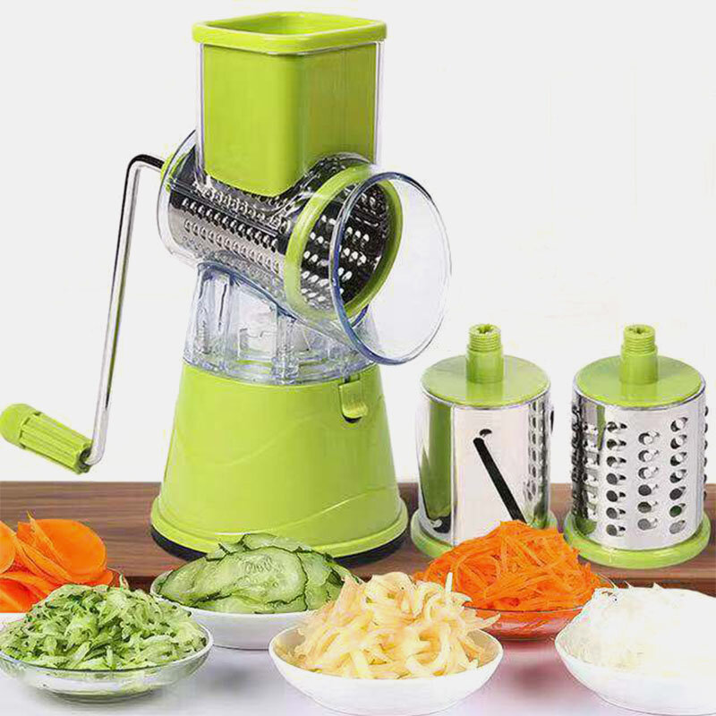 Multifunctional Hand Rocker Household Nice Dicerquick Rotary Grater Vegetable Cutter