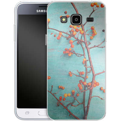 Samsung Galaxy J3 (2016) Silikon Handyhuelle - She Hung Her Dreams on Branches von Joy StClaire