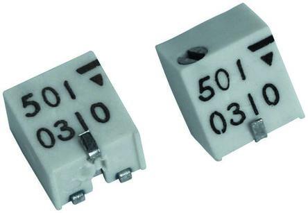 Vishay 100kΩ, SMD Trimmer Potentiometer 0.25W Top Adjust , TSM4 (5)