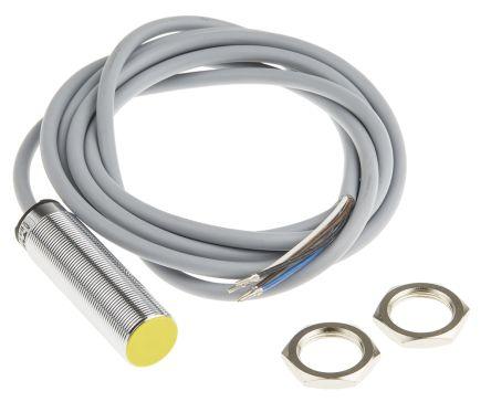 Turck M18 x 1 Inductive Sensor - Barrel, 0-10 V, 0-20 mA, Analogue Output, 4 mm Detection, IP67, Cable Terminal