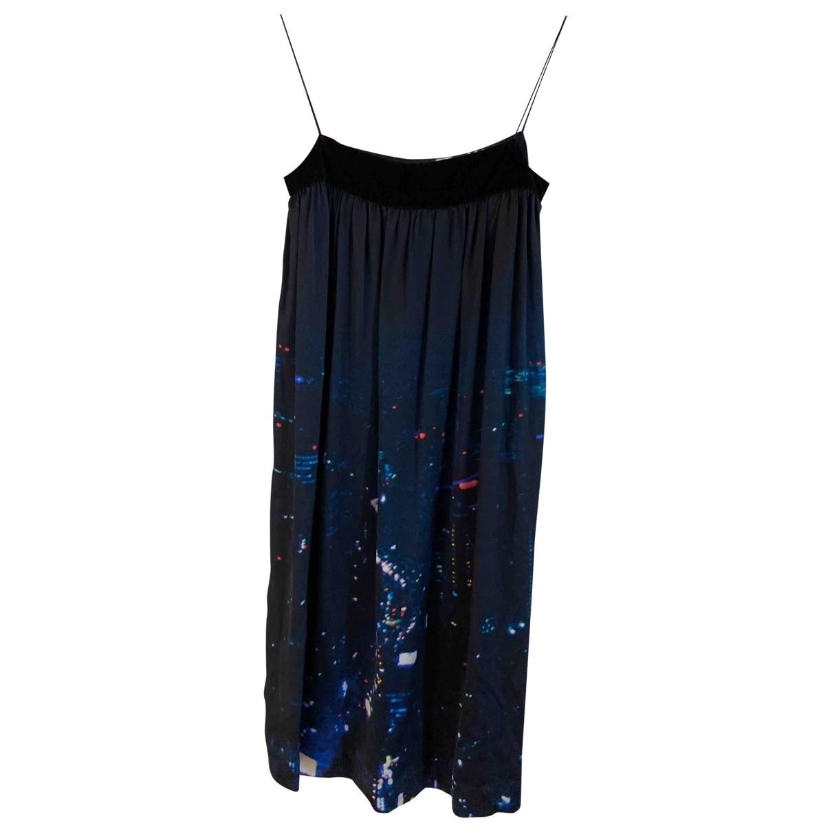 Joseph \N Kleid in  Blau Seide