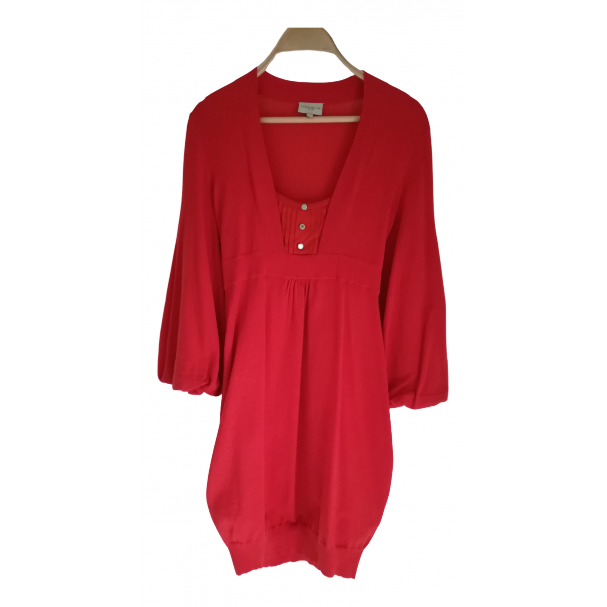 Karen Millen \N Kleid in  Orange Wolle