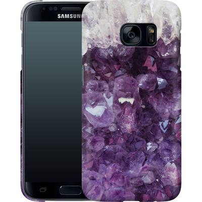 Samsung Galaxy S7 Smartphone Huelle - Bold Ametista von Emanuela Carratoni