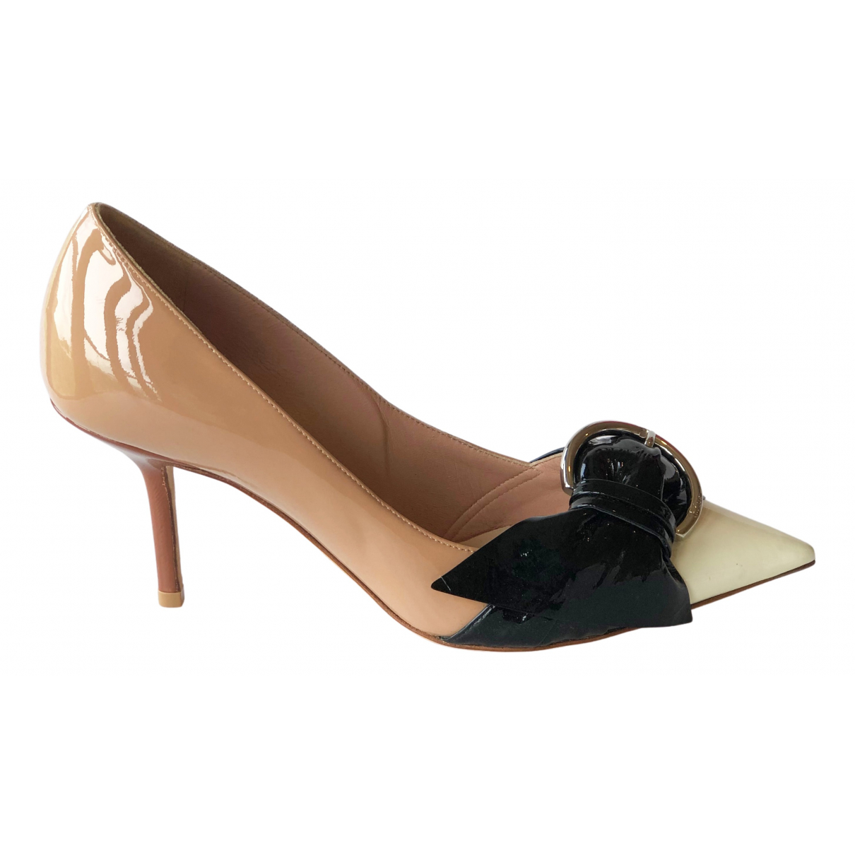 Dior \N Multicolour Patent leather Heels for Women 37 EU