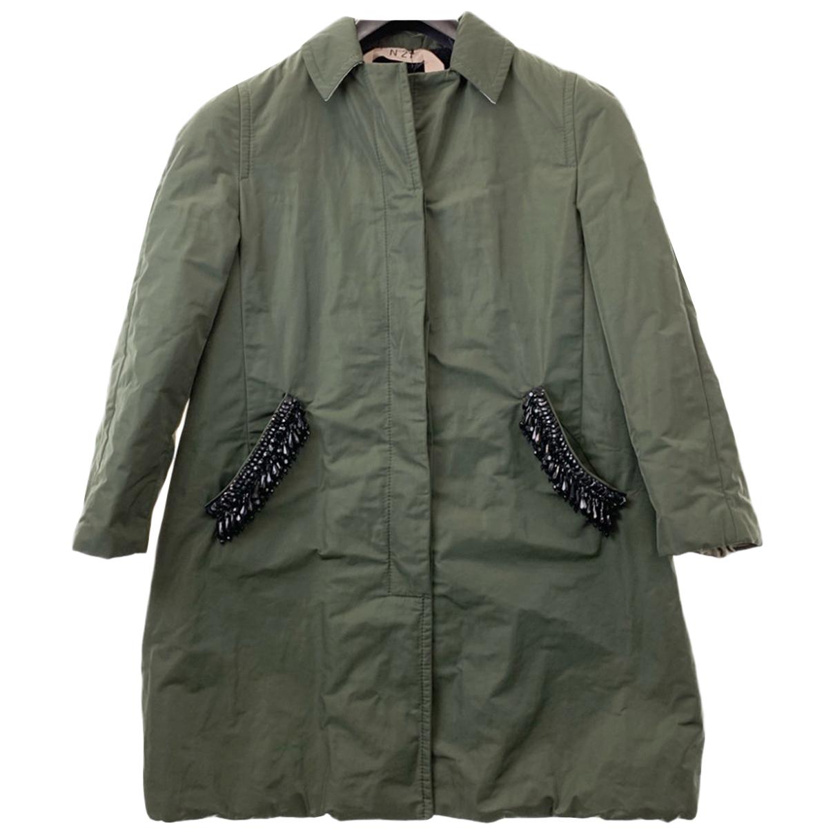 N°21 N Green coat for Women 42 IT