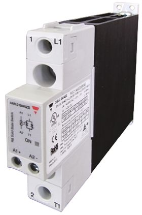 Carlo Gavazzi 30 A SPST Solid State Relay, Zero Crossing, Panel Mount, 240 V ac Maximum Load