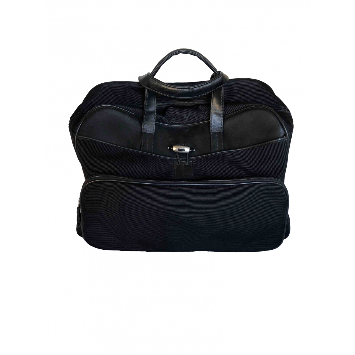 Montblanc \N Black Cloth handbag for Women \N