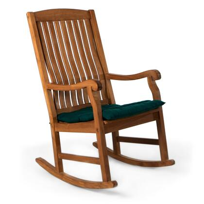 TR22-G Teak Rocking Chair and Cushion in
