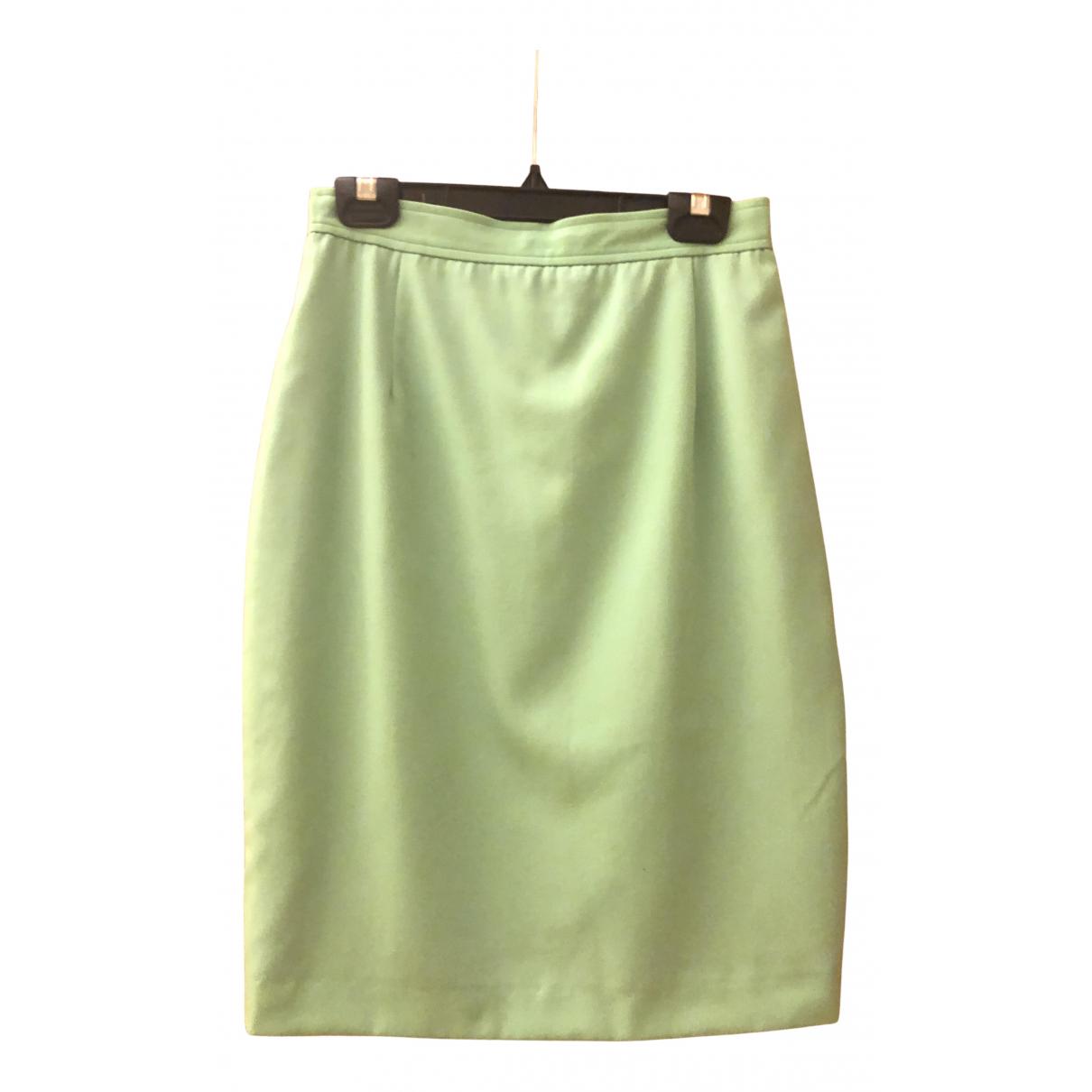 Valentino Garavani - Jupe   pour femme en laine - vert