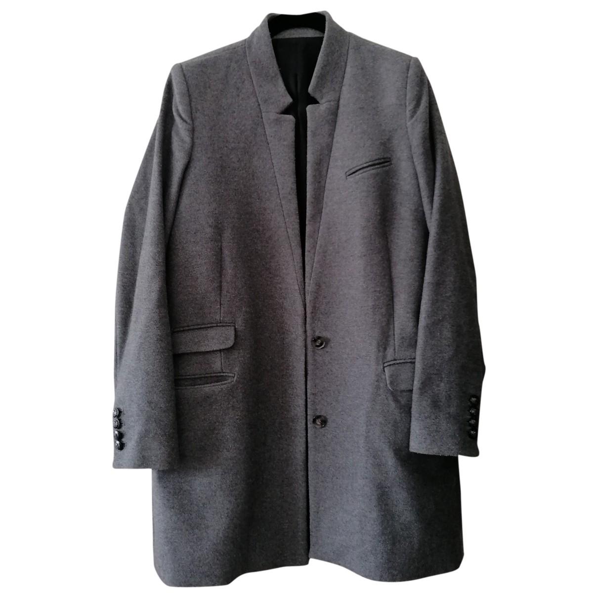 The Kooples \N Grey Wool coat for Women 36 FR
