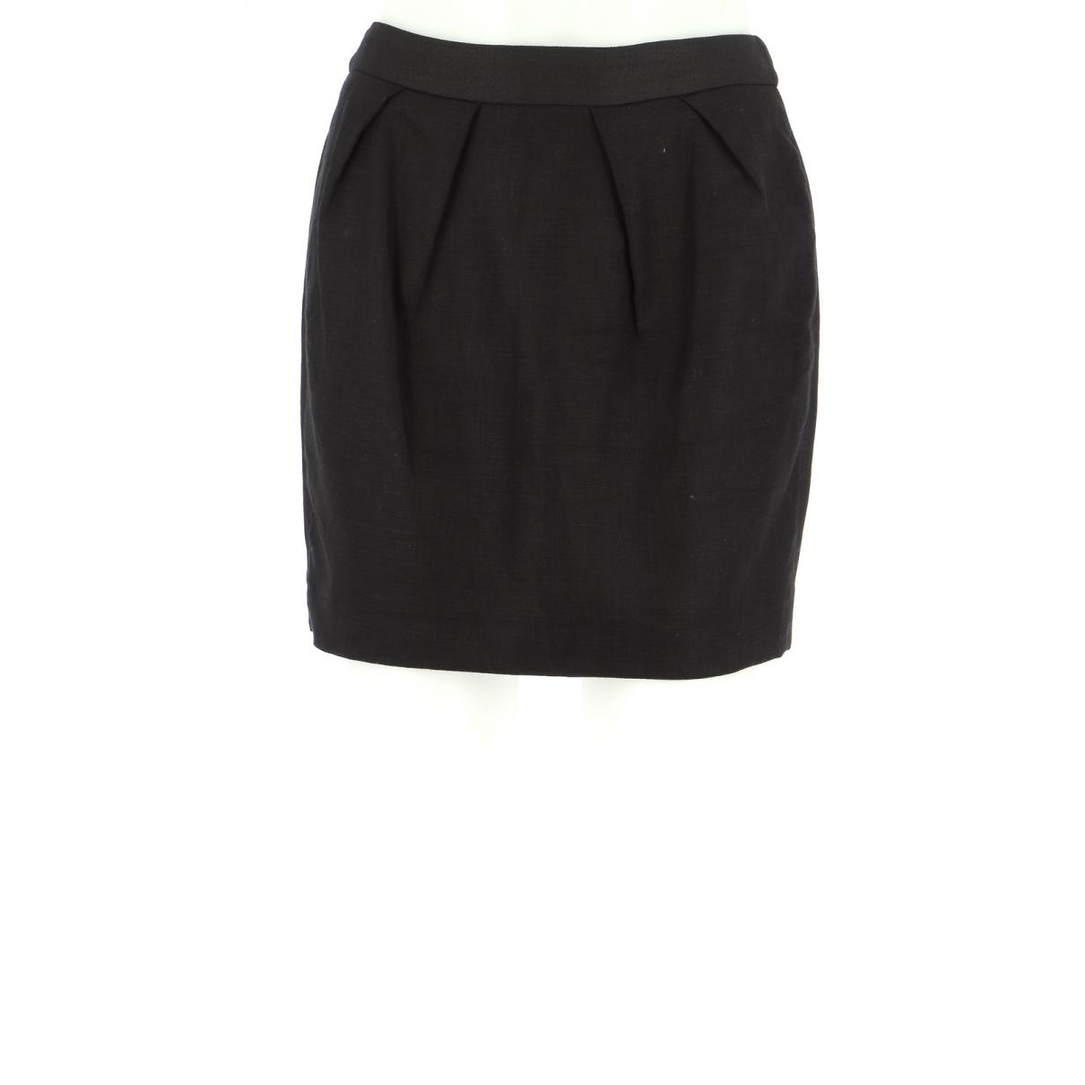 Comptoir Des Cotonniers - Jupe   pour femme en coton - noir