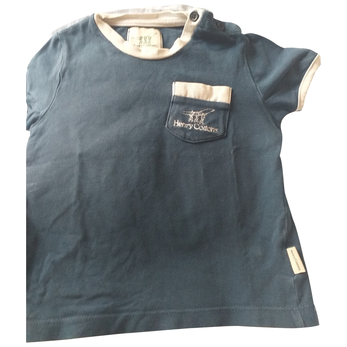 Henry Cotton \N Blue Cotton  top for Kids 18 months - up to 81cm FR