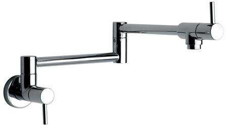 25518-82 Single Hole Pot Filler Kitchen Faucet in Brushed