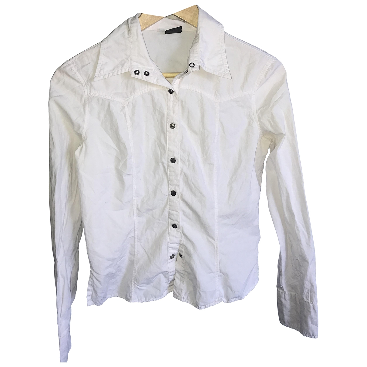 Versace Jeans \N White Cotton  top for Women S International