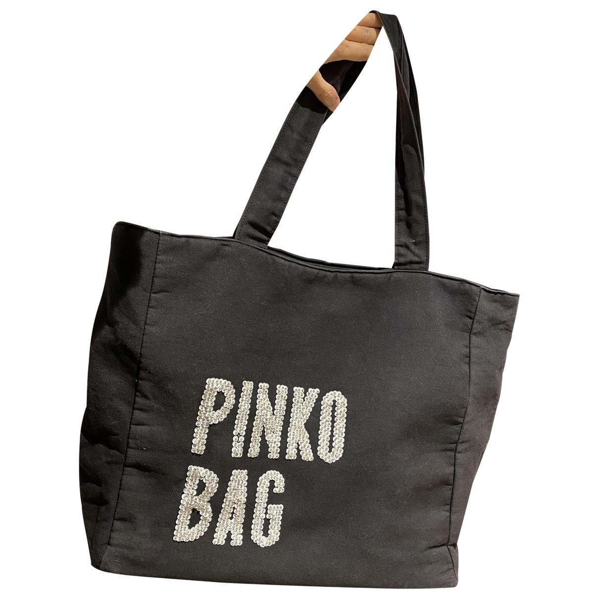 Pinko N Black Glitter handbag for Women N