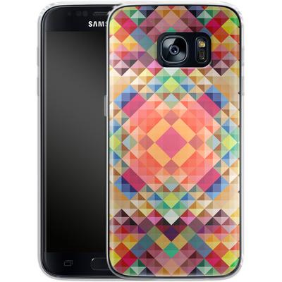Samsung Galaxy S7 Silikon Handyhuelle - We Color von Danny Ivan