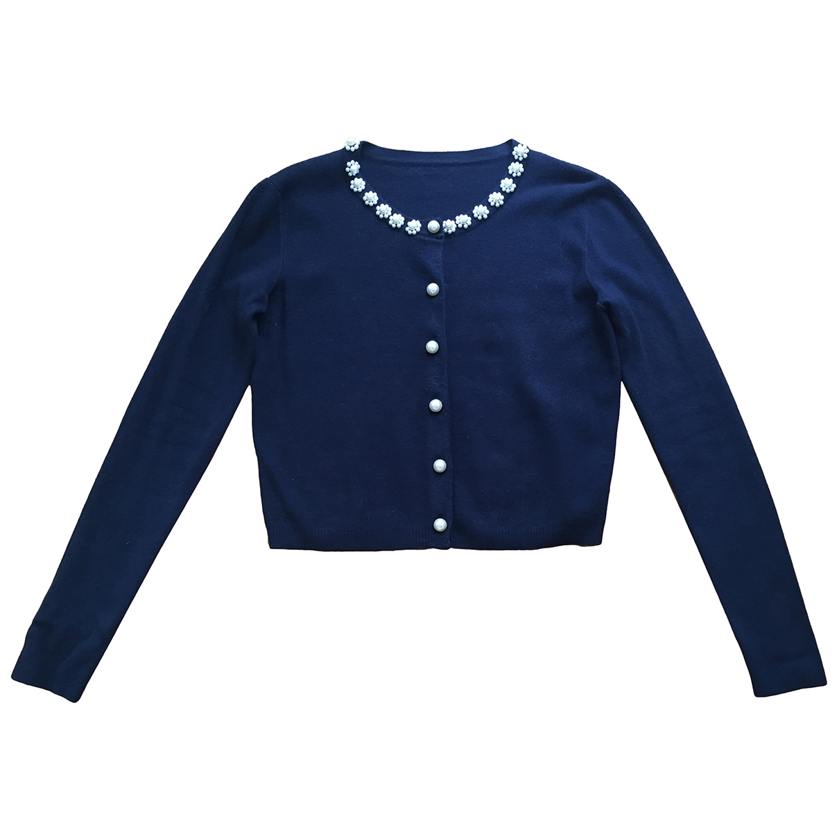 Non Signé / Unsigned \N Navy Knitwear for Women M International