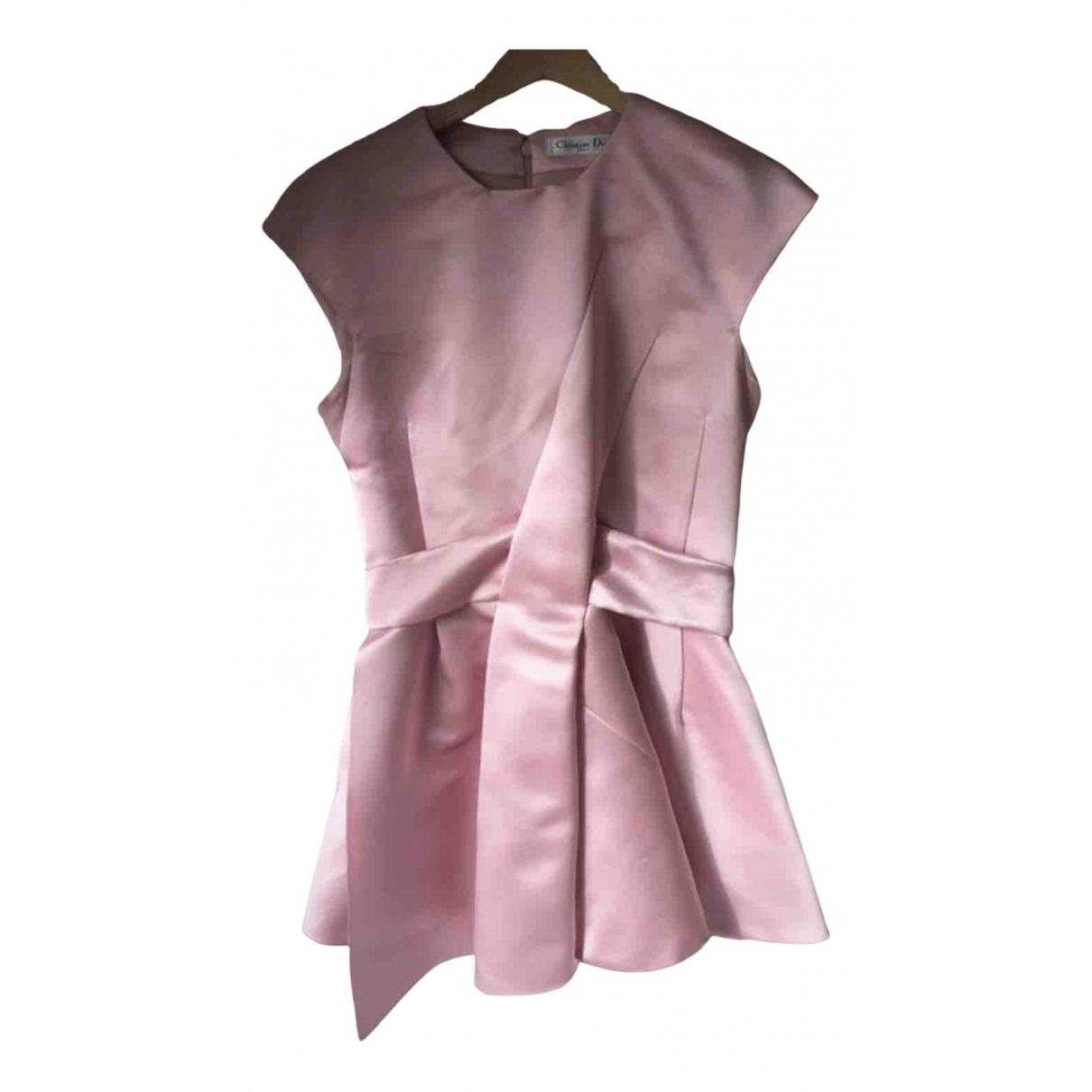 Mini vestido de Seda Dior