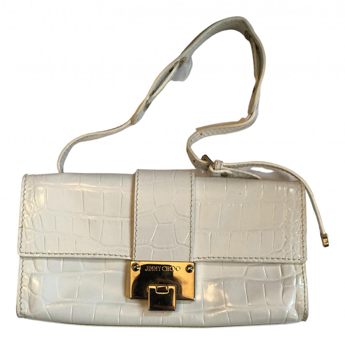 Jimmy Choo N White Patent leather handbag for Women N