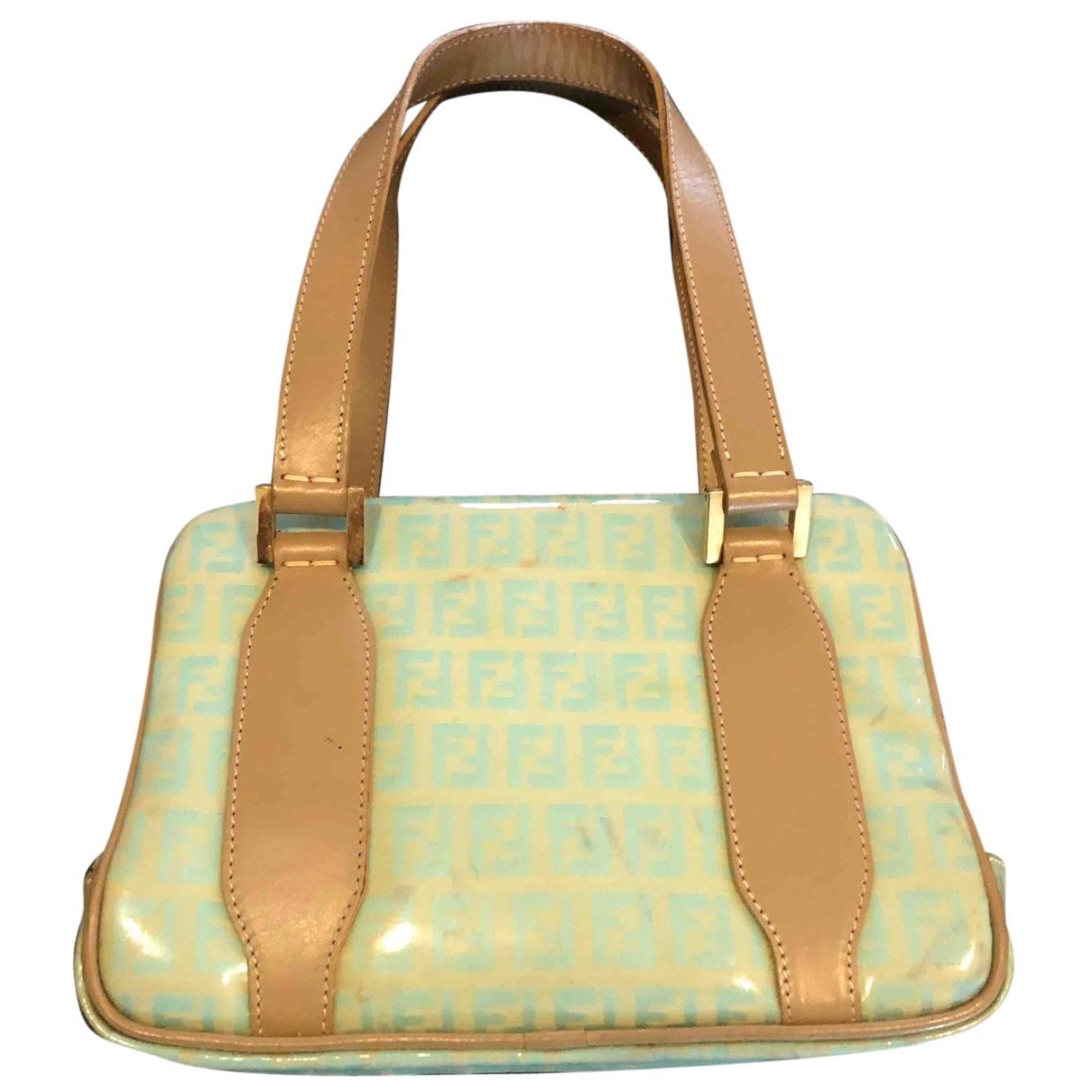Fendi N Green Cloth handbag for Women N
