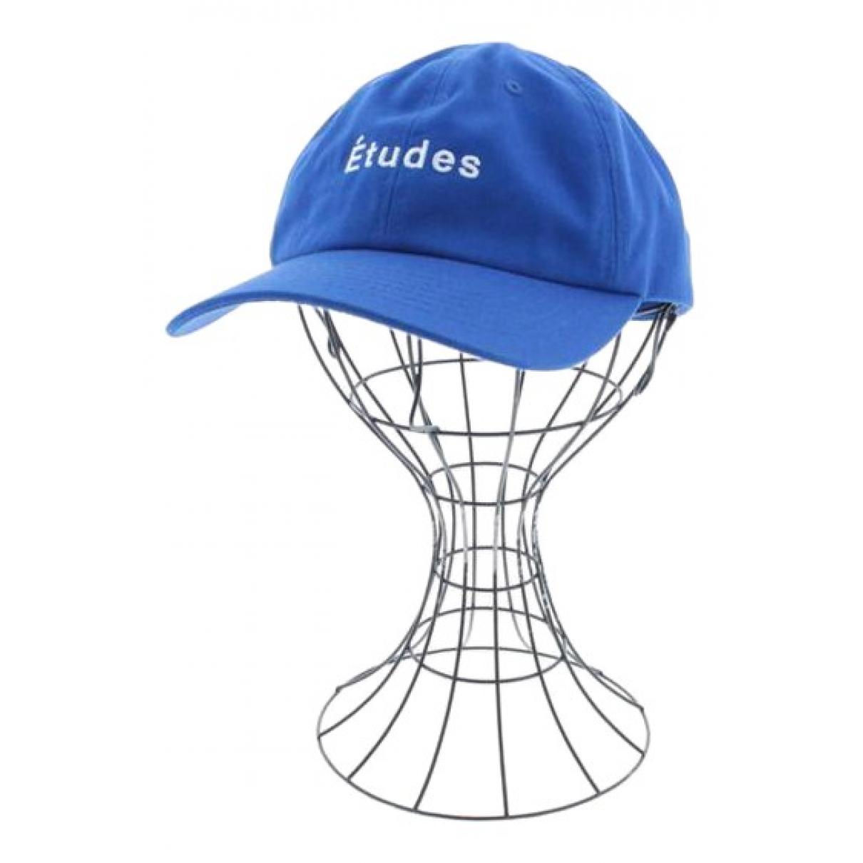 Etudes Studio - Chapeau & Bonnets   pour homme en coton - bleu