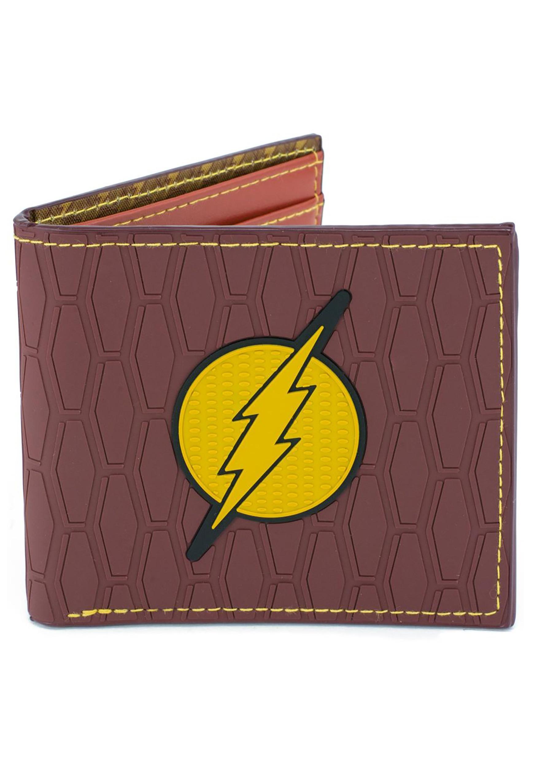 DC Comics The Flash- Rubber Wallet