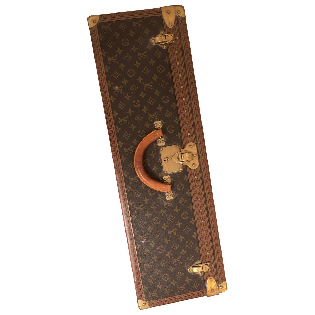 Louis Vuitton - Sac de voyage Alzer pour femme en toile