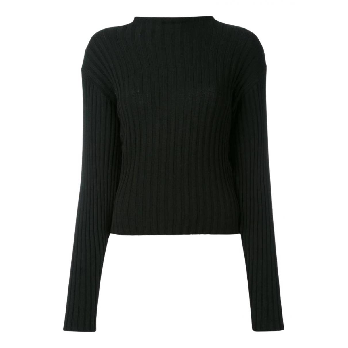Dolce & Gabbana N Black Cotton Knitwear for Women 48 IT