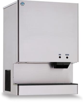DCM-751BAH 35 Stanitary Cubelet Ice Machine and Dispenser with 801 lbs. Daily Ice Production  Built-In 70 lbs. Ice Storage  Corrosion Resistant