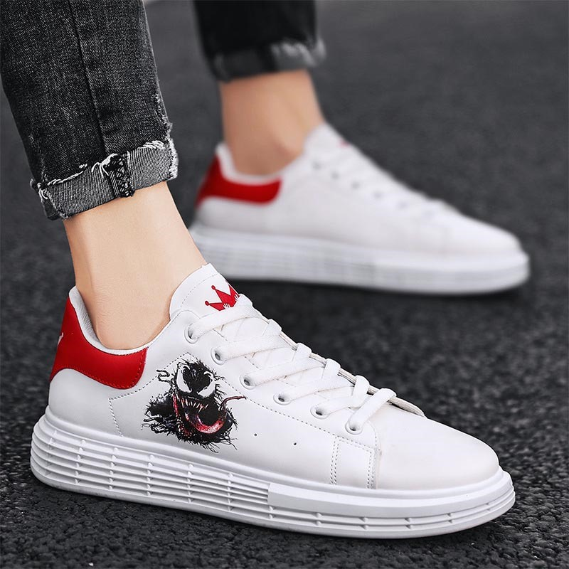 Ericdress Low-Cut Upper Platform Lace-Up Round Toe Skate Shoes