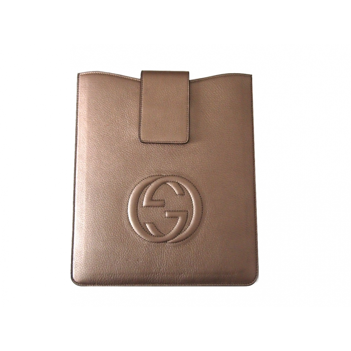 Gucci \N Gold Leather Purses, wallet & cases for Women \N