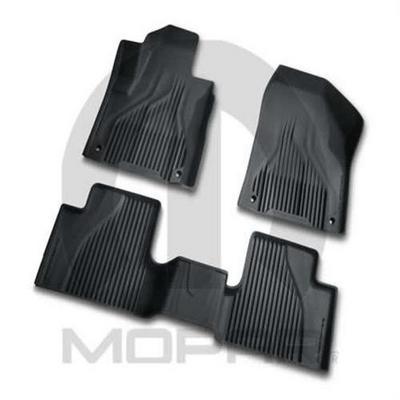 Jeep Front and Rear Slush Mats (Slate Gray) - 82214098
