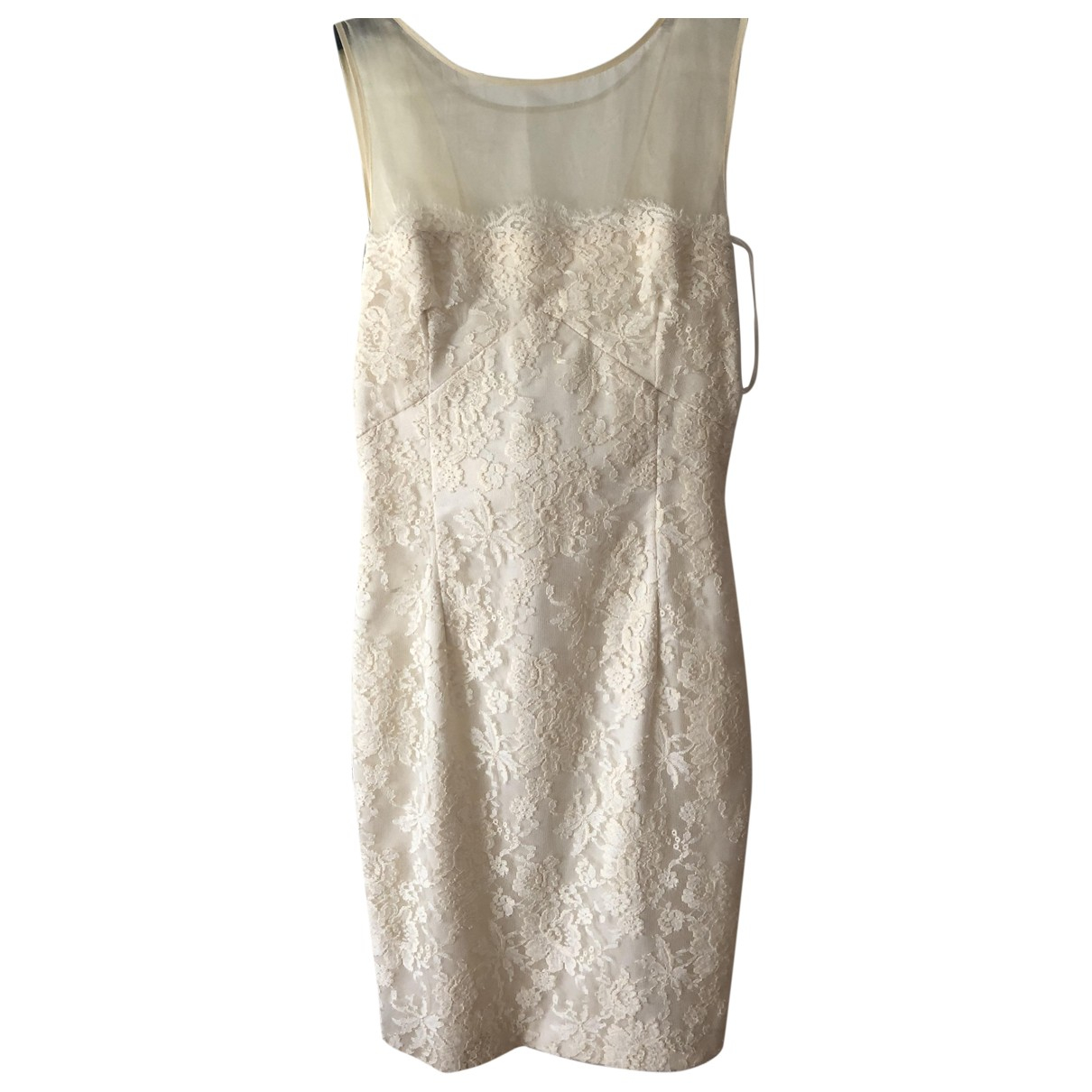 Seventy - Robe   pour femme en coton - blanc