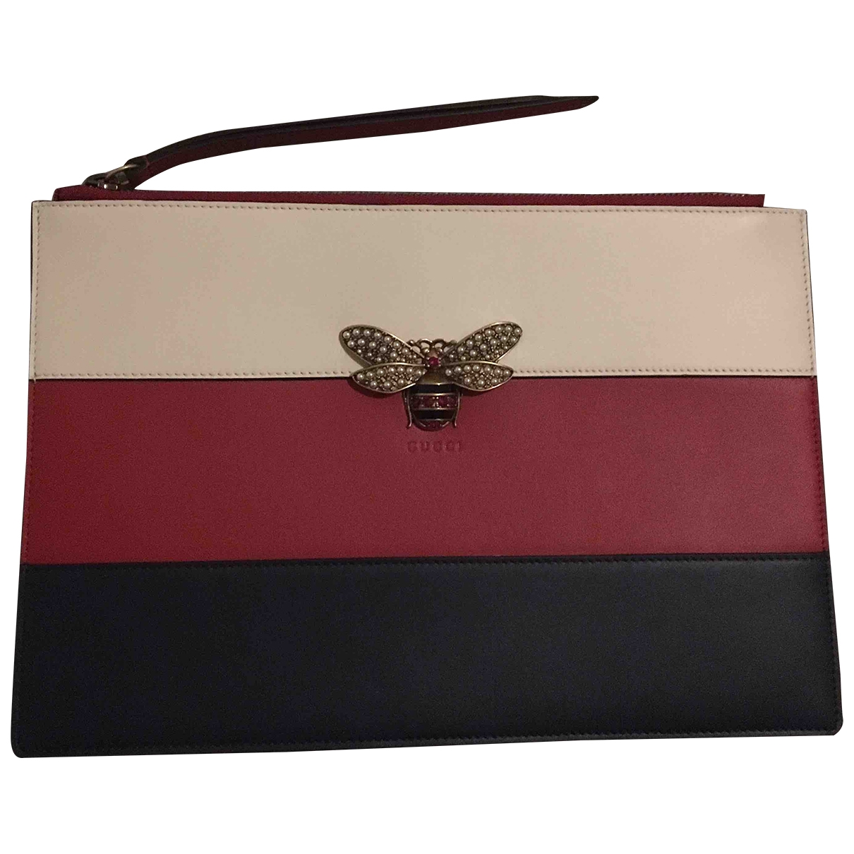 Gucci - Pochette   pour femme en cuir - multicolore