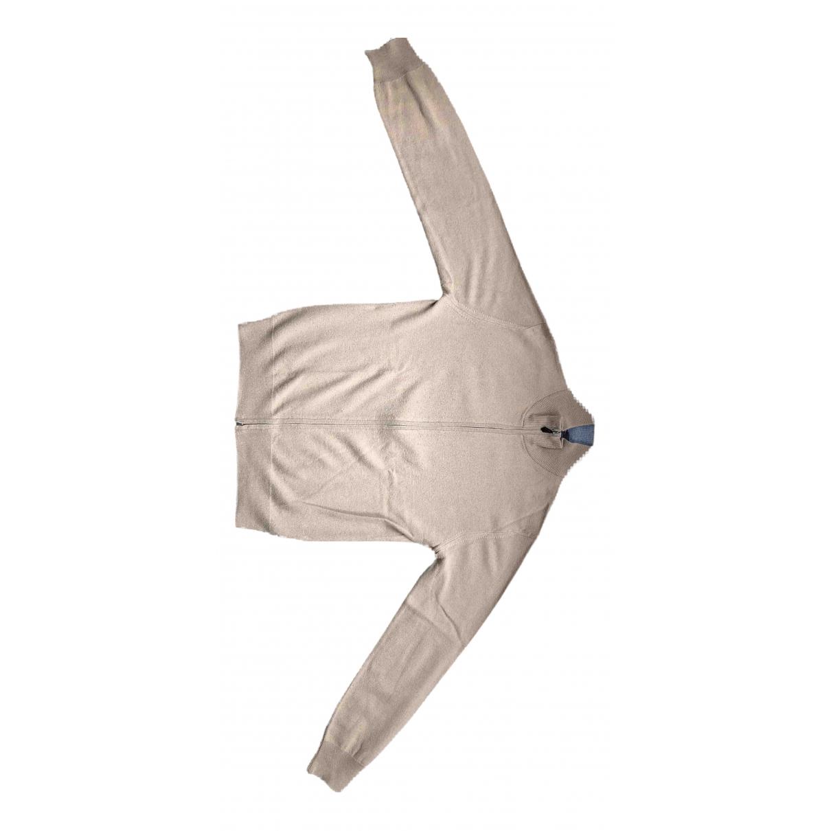 Hackett London - Pulls.Gilets.Sweats   pour homme en laine - beige