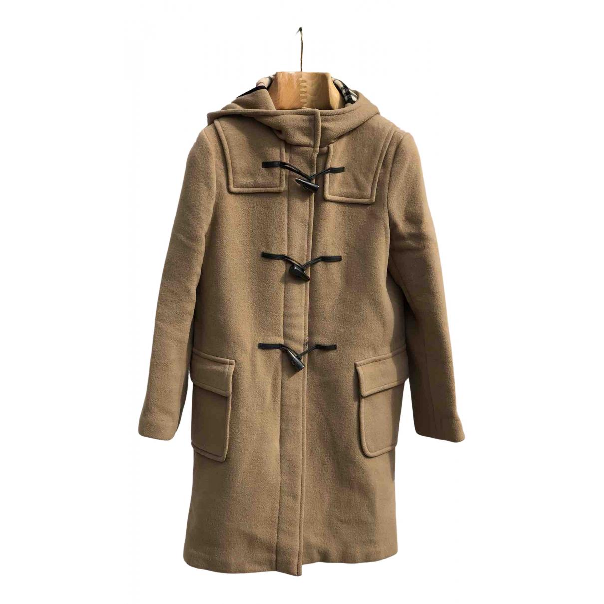 Burberry - Manteau   pour femme en laine - beige