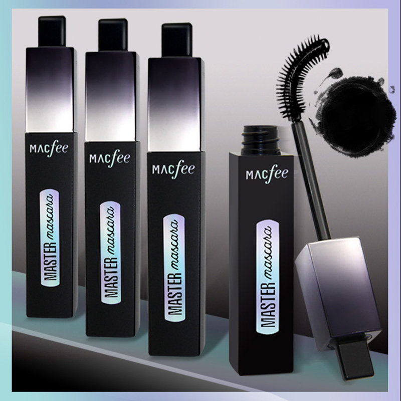 Rotating Head Mascara Black Long-Lasting Mascara Waterproof Curling Eyelashes Eye Cosmetic